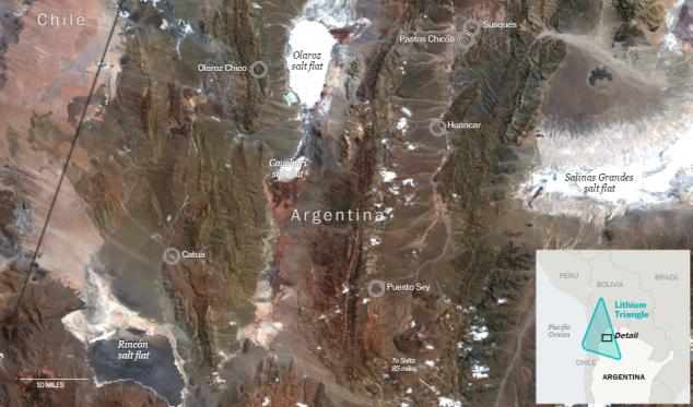 Как поставщики лития для электрокаров и телефонов убивают коренных аргентинцев - 9