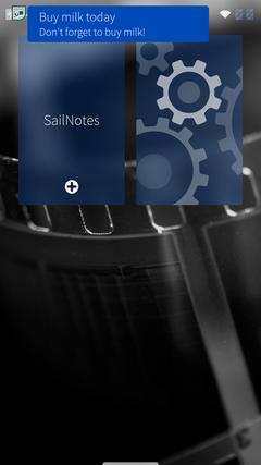 Разработка для Sailfish OS: работа с уведомлениями на примере приложения для ведения заметок - 12