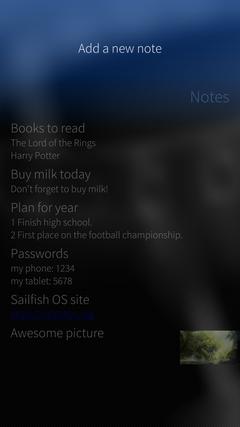 Разработка для Sailfish OS: работа с уведомлениями на примере приложения для ведения заметок - 3
