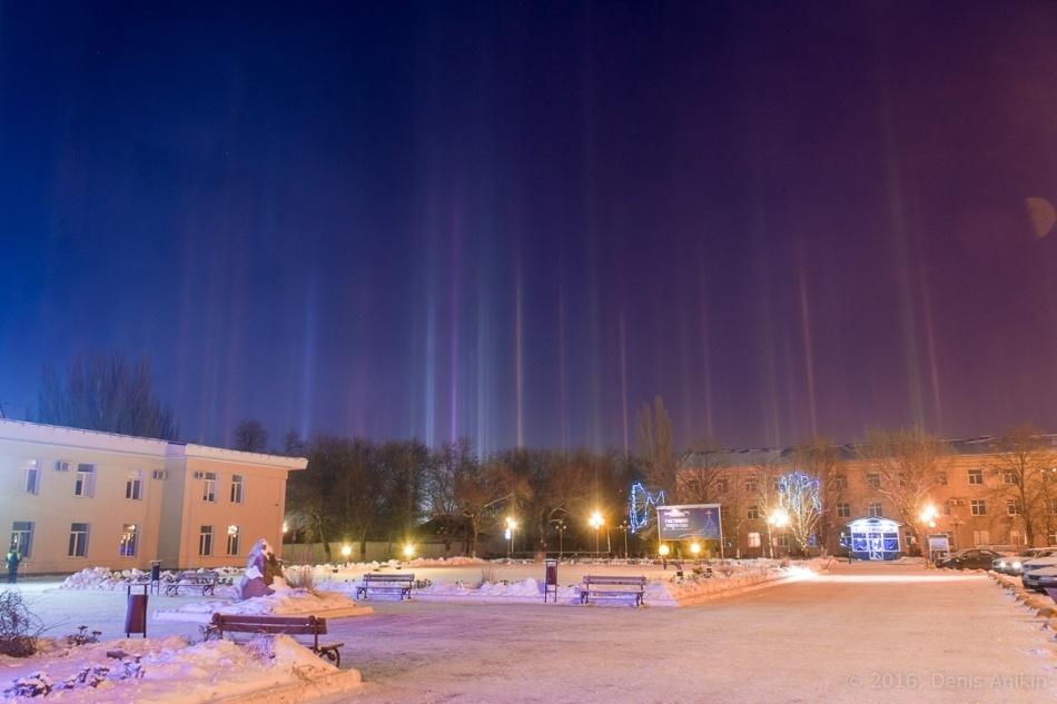 Зимнее небо для новогодних каникул - 21