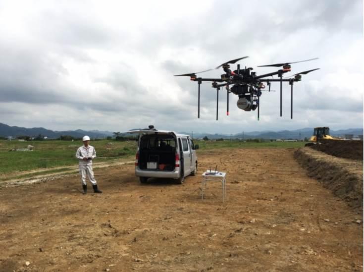 Новый БПЛА Terra Drone предназначен для геодезической съемки