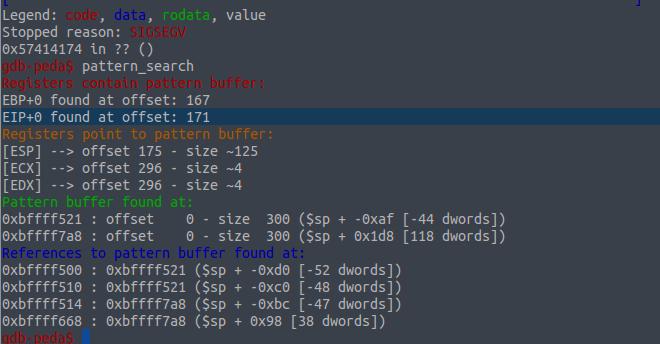 VulnHub: Эксплуатируем уязвимость переполнения буфера в Lord Of The Root - 19