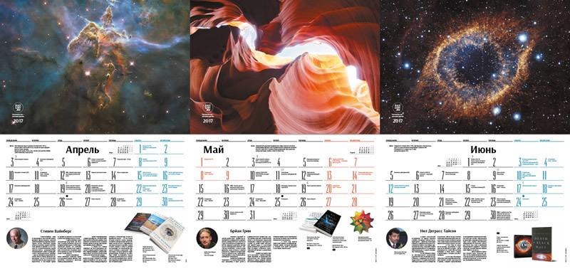 Астрономический календарь на 2017 год - 3