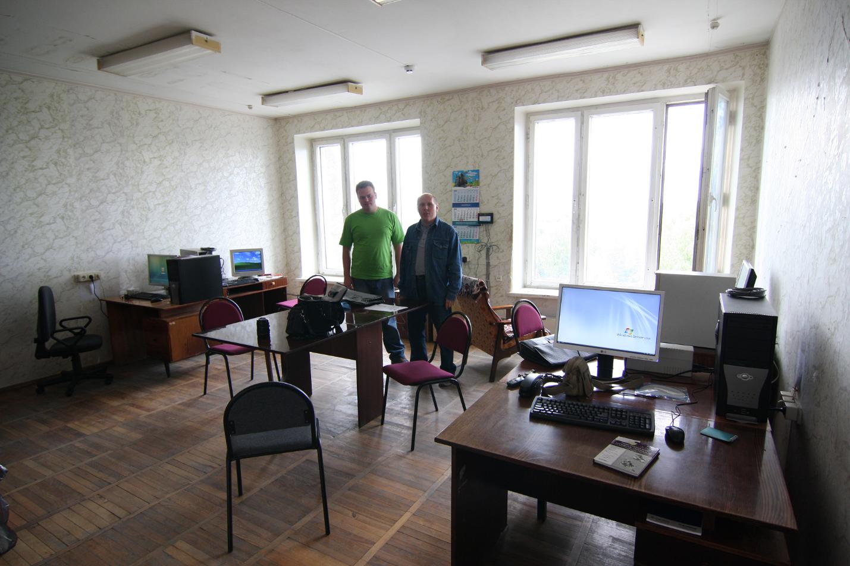 """Рисунок 5. ООО """"СиПроВер"""", 2008 год. Первый день в первом собственном офисе."""