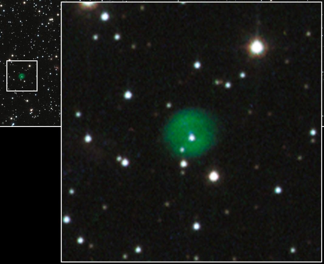 Почему останки звёзд бывают зелёными - 10