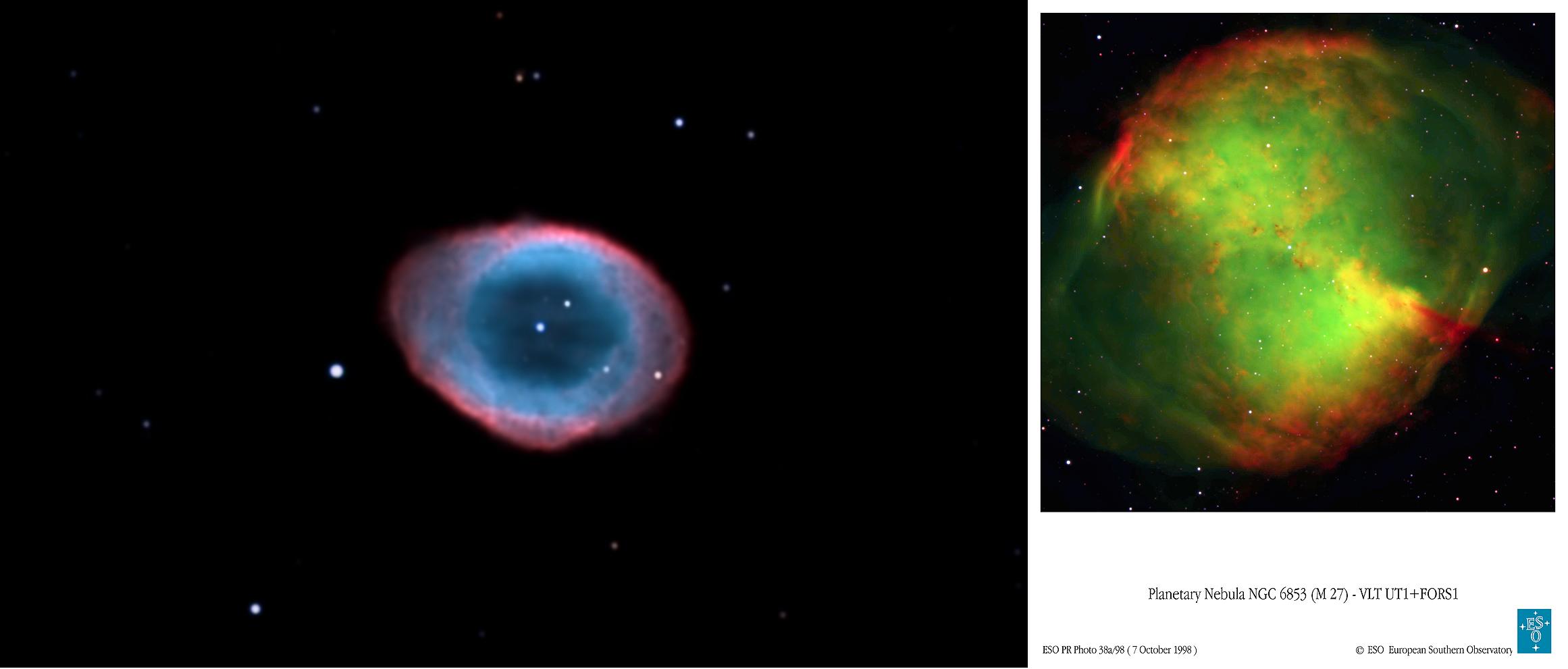 Почему останки звёзд бывают зелёными - 9