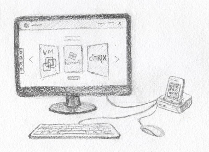 Мобильный терминальный клиент, как зарождалась идея - 2