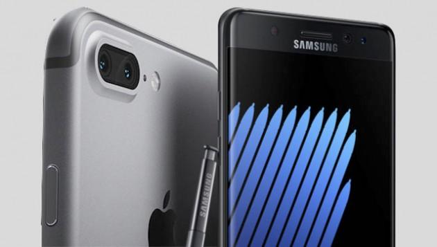 По мнению аналитиков, смартфон iPhone 7 оказался недостаточно интересным, чтобы Apple смогла извлечь пользу из истории с Samsung Galaxy Note7