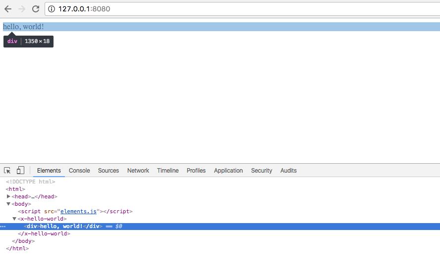 Путь джесая, часть первая: typescript, webpack, jsx, custom elements… - 3