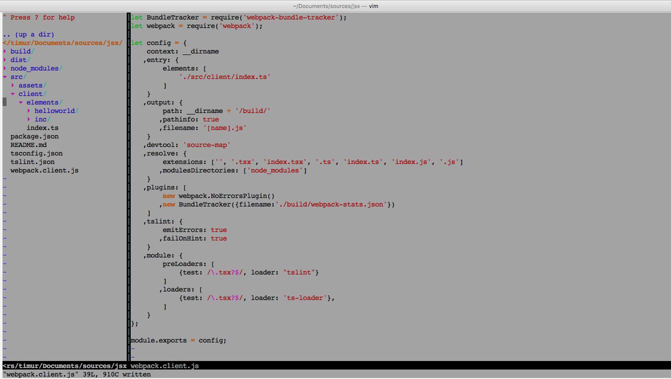 Путь джесая, часть первая: typescript, webpack, jsx, custom elements… - 1