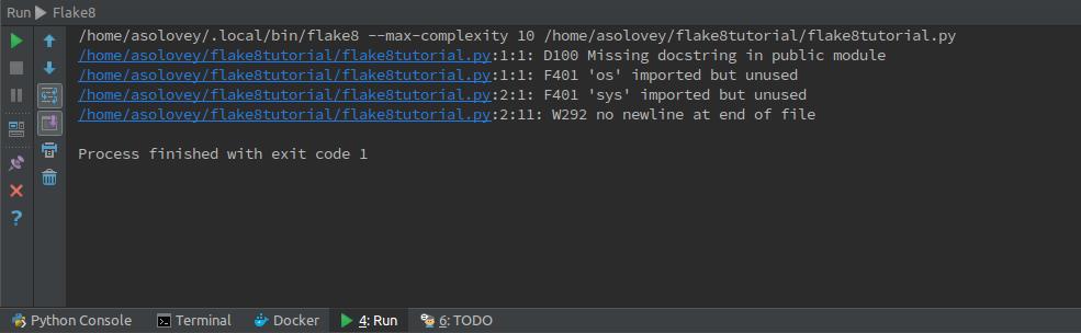 Стильный код на Python, или учимся использовать Flake8 - 5