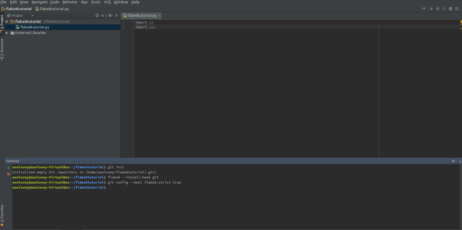 Стильный код на Python, или учимся использовать Flake8 - 8
