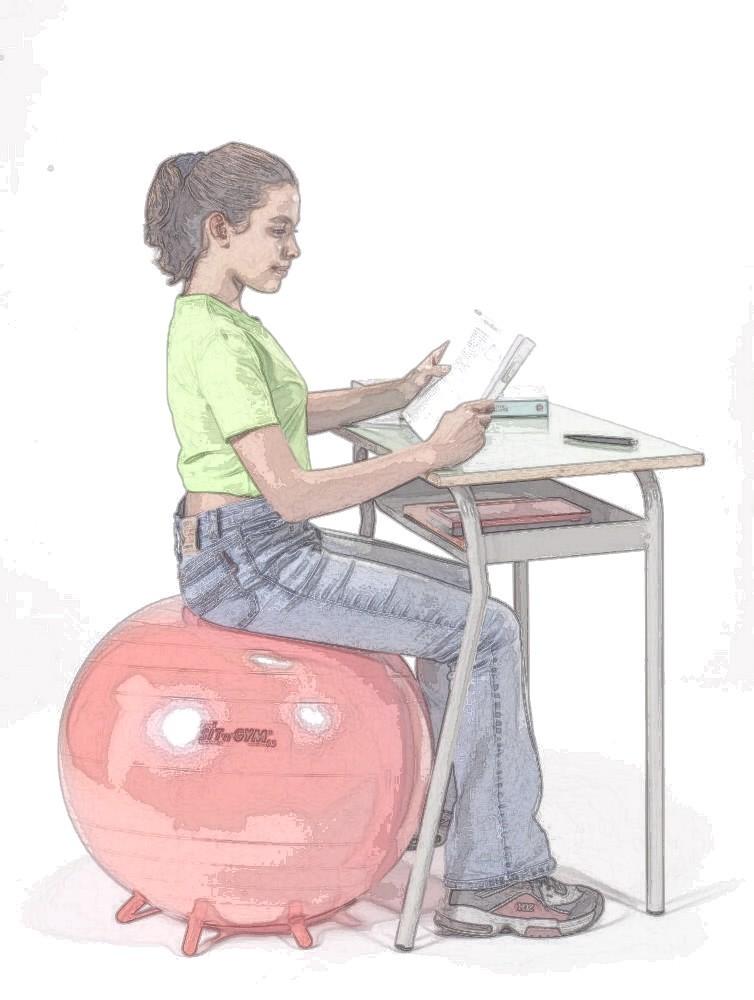 Проприоцепция для неспециалистов. Часть 3. Динамическое сидение на стуле - 2