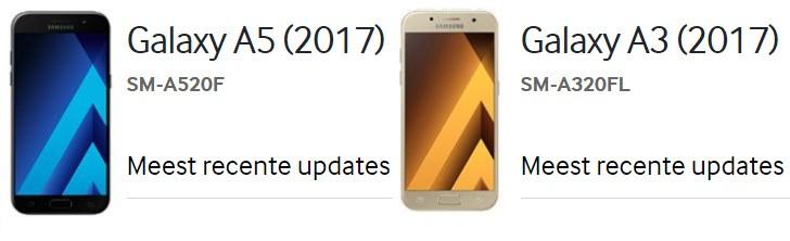 Анонс смартфонов Samsung Galaxy A образца 2017 года ожидается 5 января 2017 года