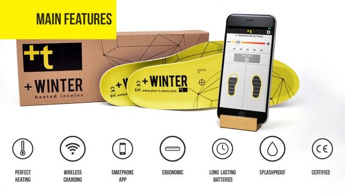 Стельки +Winter с электроподогревом оснащены беспроводным интерфейсом