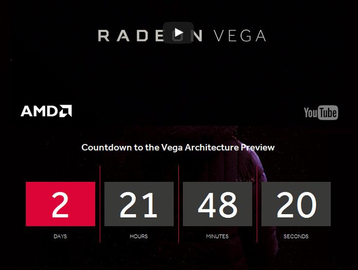 Ожидается, что GPU AMD Vega будут выпускаться по нормам 14 нм