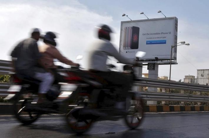 Индийский рынок смартфонов является одним из крупнейших в мире
