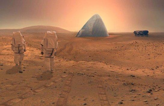 Ученые определились, как будут расселять людей на Марсе
