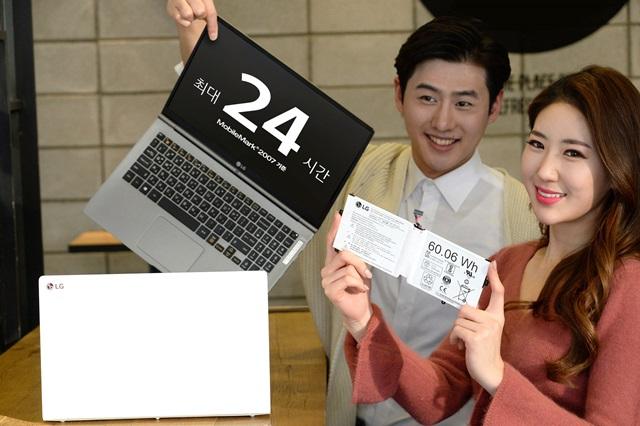Ноутбук LG All Day Gram работает без подзарядки 24 часа