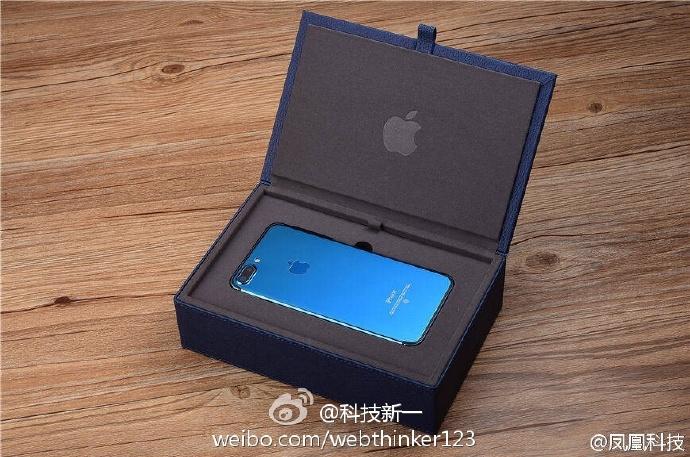 Опубликованы изображения смартфона iPhone 7 в цвете Blue Shade - 1