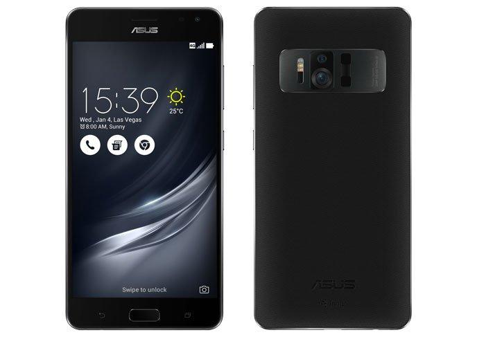 Смартфон Asus ZenFone AR будет поддерживать технологии Tango и платформу Daydream