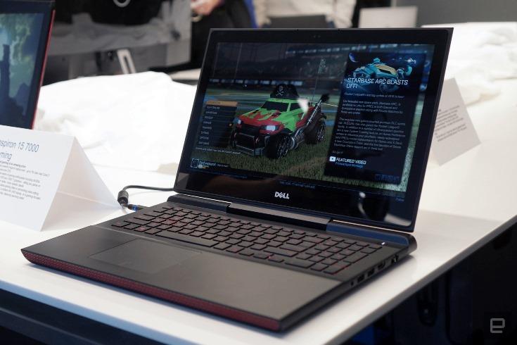 Dell представила недорогие игровые ноутбуки