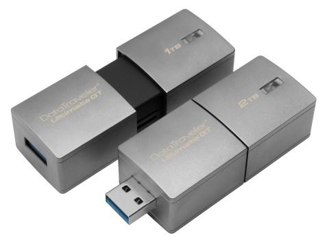 Накопитель Kingston DataTraveler Ultimate GT предлагает рекордную для сегмента ёмкость