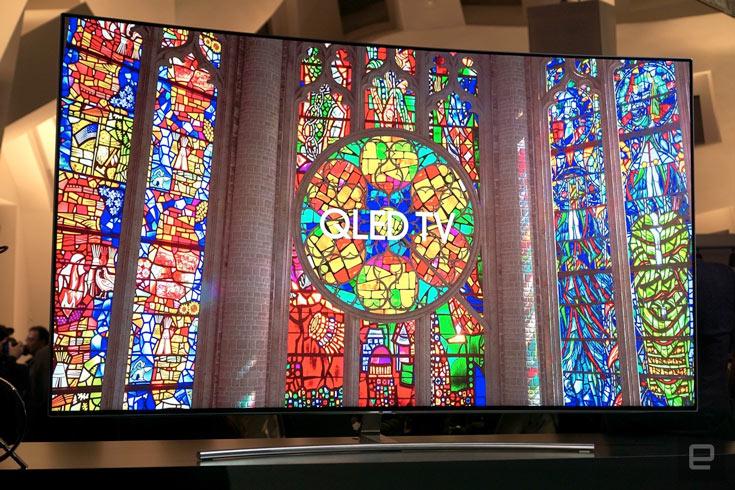 В новых телевизорах Samsung используется материал с квантовыми точками на основе металла