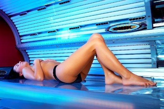 В солярии человек может «заработать» рак кожи