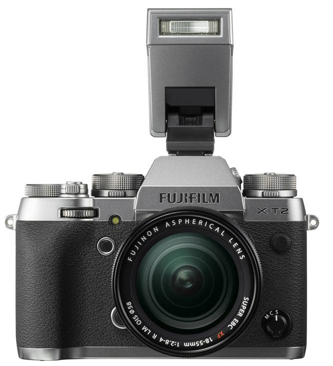 Металлические поверхности корпуса Fujifilm X-T2 Graphite Silver Edition имеют трехслойное покрытие