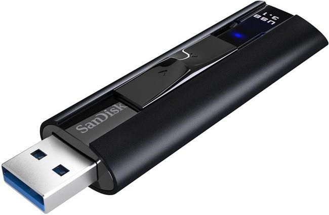 Представлен самый быстрый USB-накопитель SanDisk Extreme Pro USB 3.1 емкостью 256 ГБ