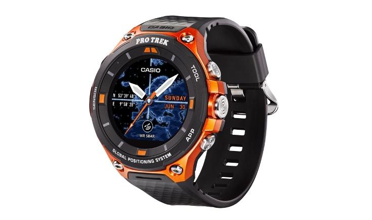 Умные часы Casio Pro Trek WSD-F20 получили модуль GPS