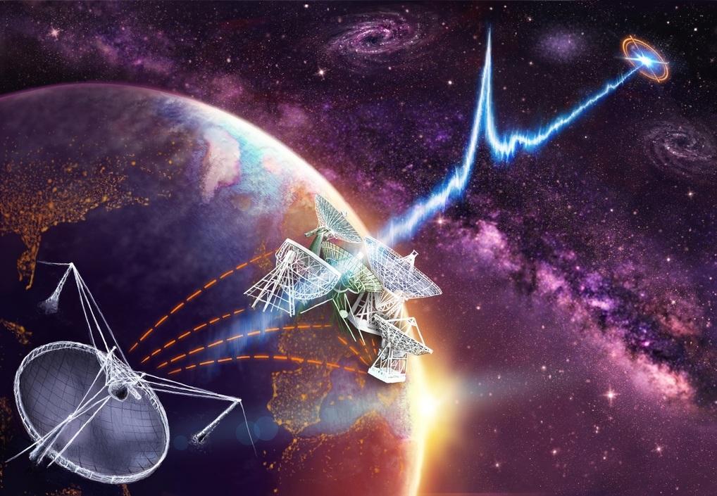 Астрономы уточнили местоположение источника повторяющихся быстрых радиовсплесков - 1