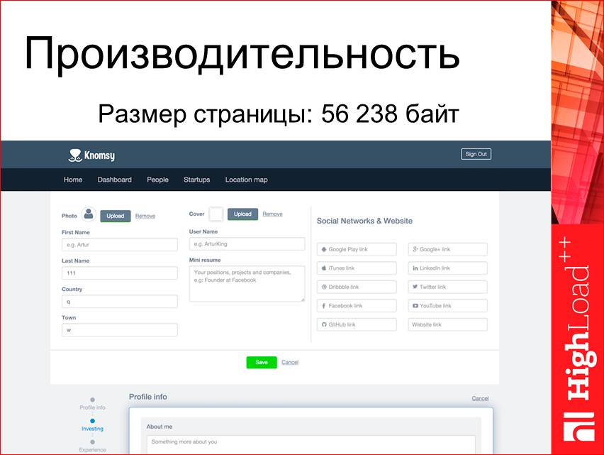 Изоморфные React-приложения: производительность и масштабирование - 33