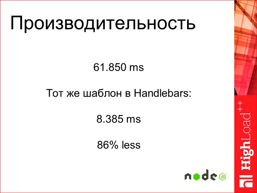 Изоморфные React-приложения: производительность и масштабирование - 39