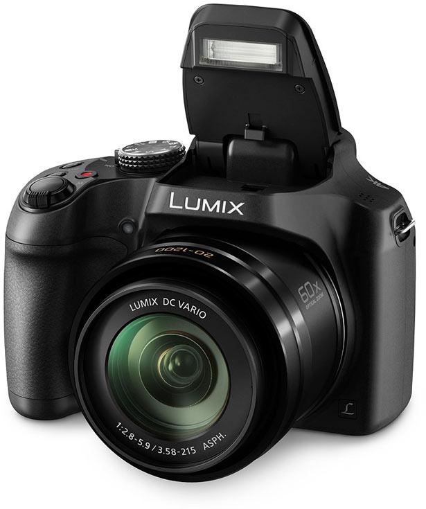 Камера Panasonic Lumix DMC-FZ80 поддерживает съемку видео 4K
