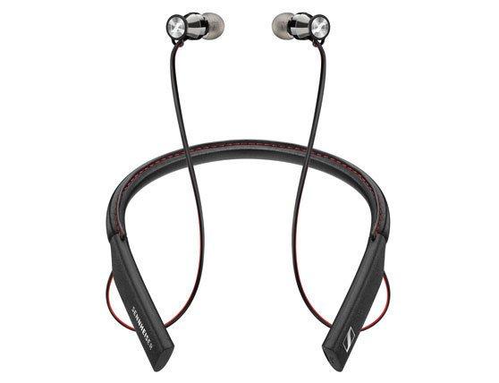 Внутриканальные наушники Sennheiser HD 1 In-Ear Wireless подключены к «ошейнику»