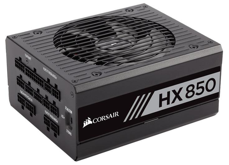 Блоки питания Corsair HX и TX-M имеют сертификаты 80 Plus Platinum и Gold соответственно