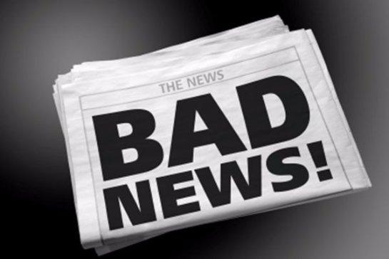 Слушать плохие новости вредно