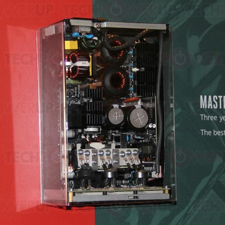 Мощность нового блока питания серии MasterWatt — 1200 Вт