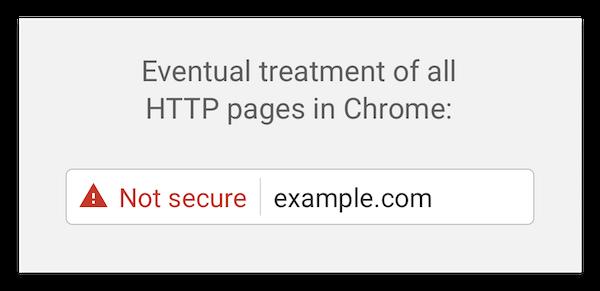 Обещания Google начали сбываться — теперь сайты https помечаются как надёжные - 3
