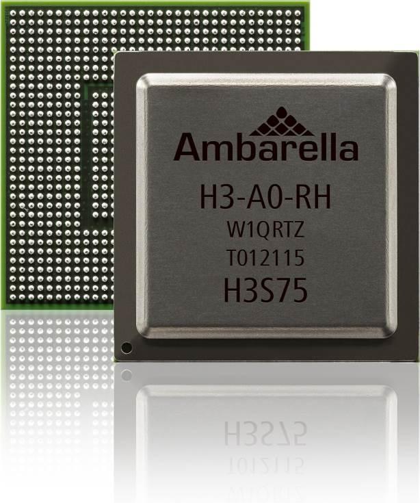 Однокристальная система Ambarella S3 предназначена для дронов верхнего сегмента и видеокамер нового поколения