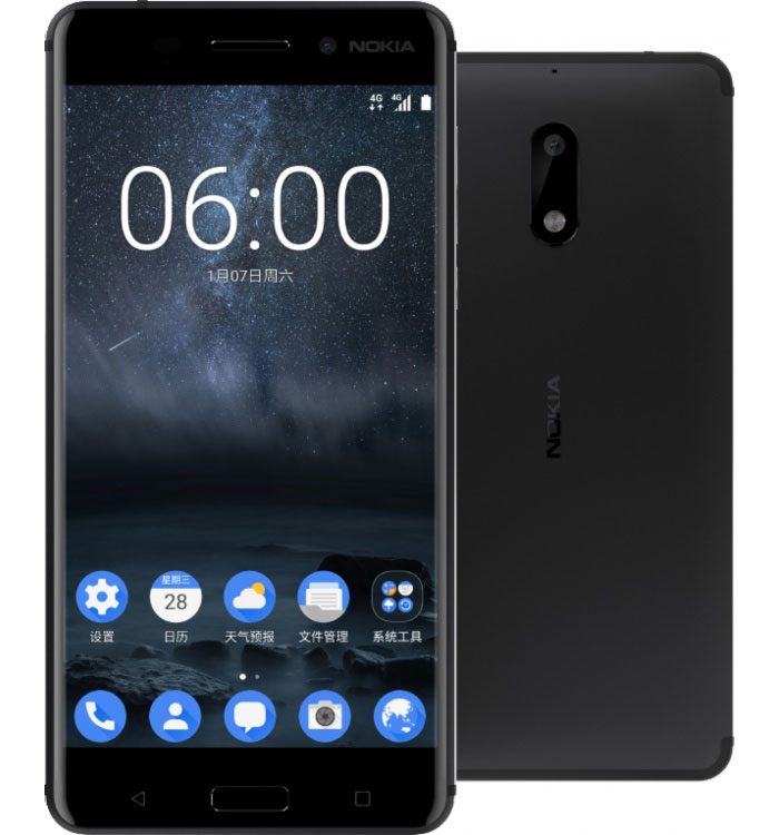 Представлен смартфон Nokia 6: 4 ГБ ОЗУ, стереозвук и цена $245