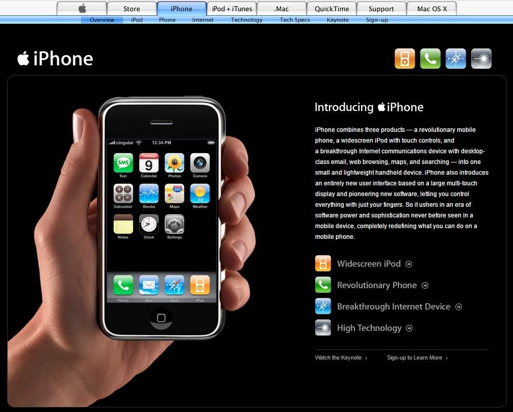 10 лет назад мир увидел iPhone - 2