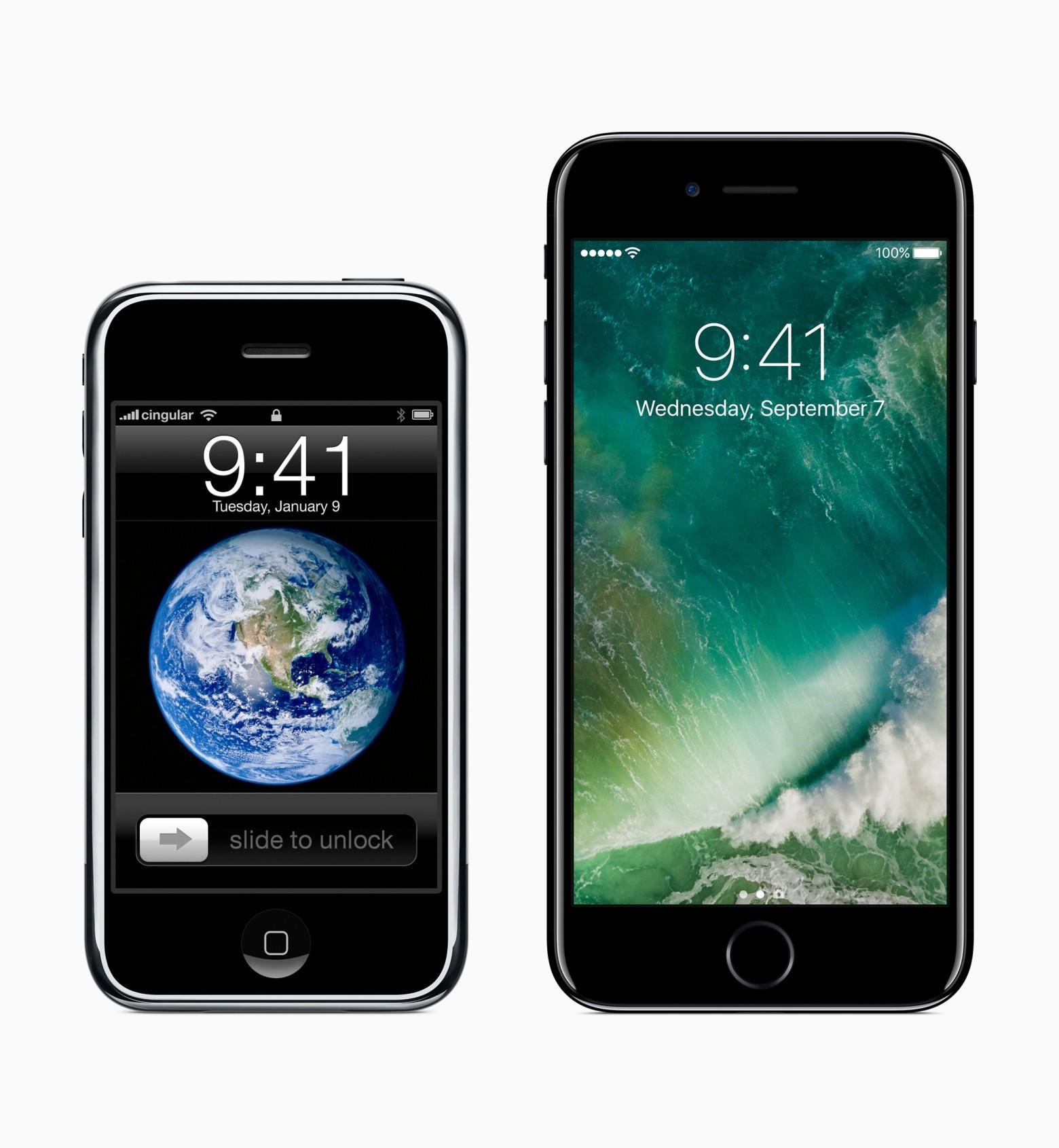 10 лет назад мир увидел iPhone - 3
