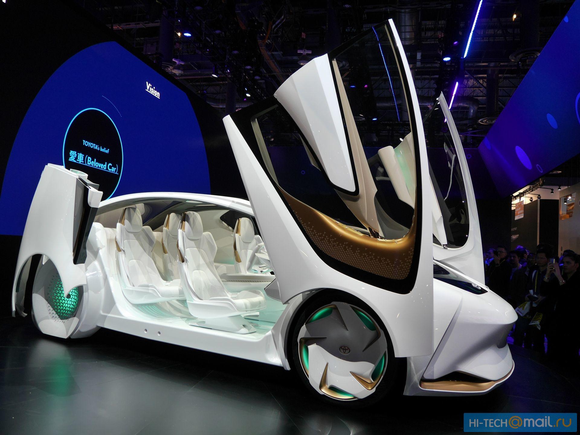Будущее автомобилей на CES 2017 - 15
