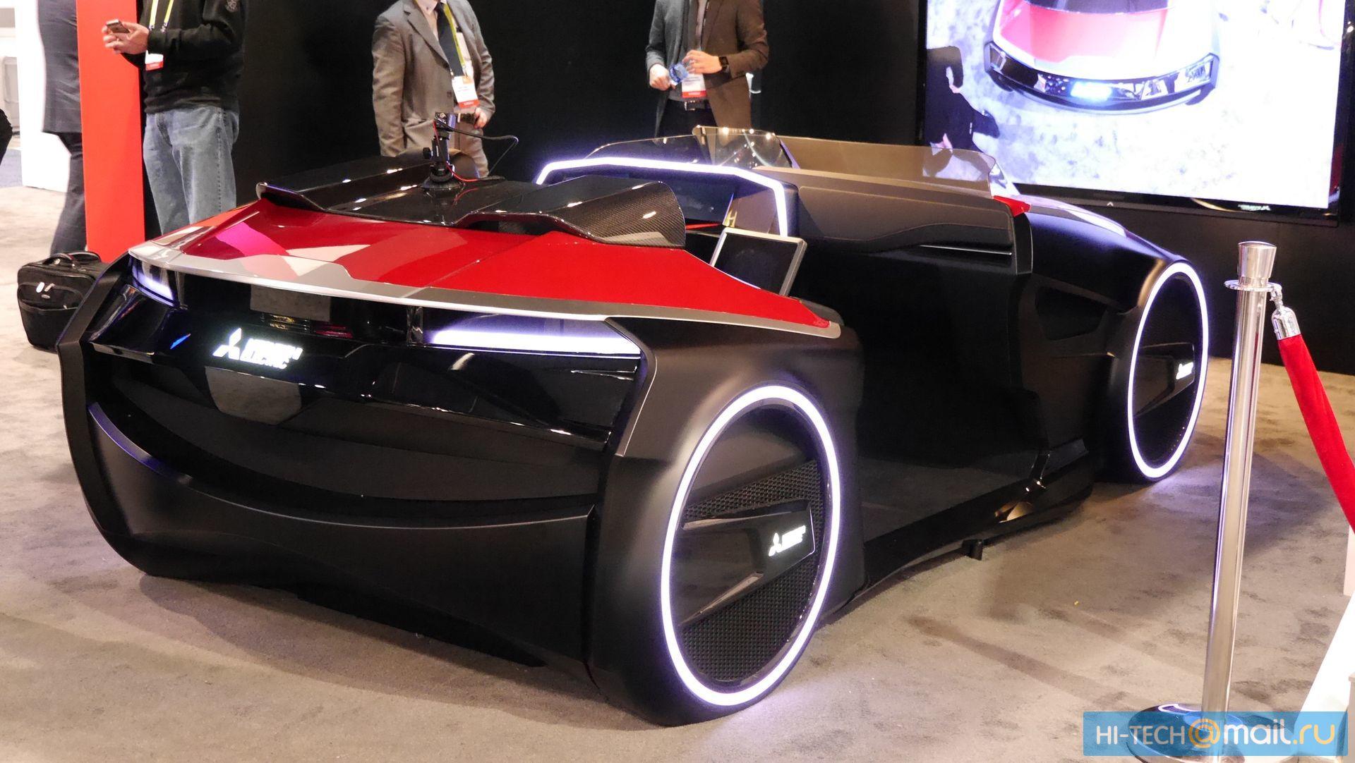 Будущее автомобилей на CES 2017 - 19