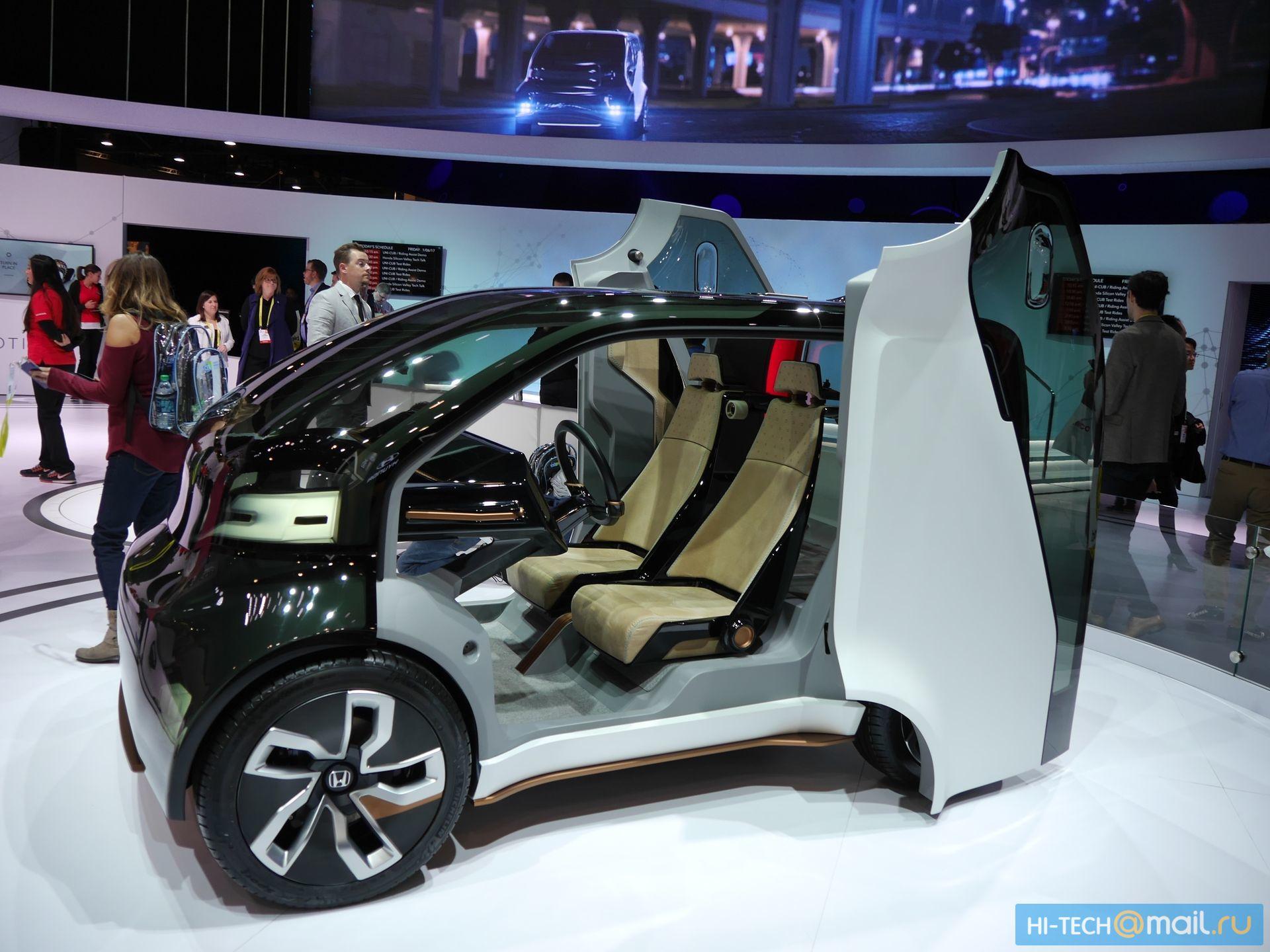 Будущее автомобилей на CES 2017 - 25