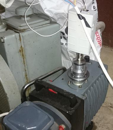 Электронный микроскоп в гараже. Откачиваем - 10