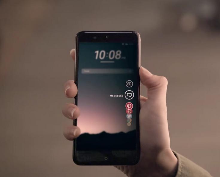 HTC показала новый флагманский смартфон в коротком видео
